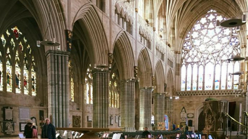 Bra-vissima performs at Exeter Cathedral